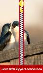 Love Birds Zipper Lock Screen Free screenshot 1/6
