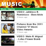 Music Nigeria WRT screenshot 1/3