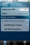 Cisco AnyConnect screenshot 1/1