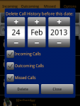 Call History Search and Delete screenshot 4/6