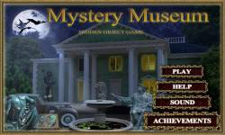 Free Hidden Objects Game - Mystery Museum screenshot 1/4