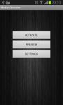 Motion Detector Free screenshot 1/5
