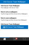 USA Soccer Team Wallpaper screenshot 2/5