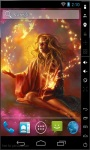 Flame X Magic Live Wallpaper screenshot 2/2