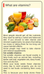 Vitamins And Minerals Guide screenshot 1/1