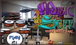 Free Hidden Object Games - Music and Stuff screenshot 1/4