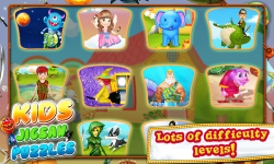 Kids Jigsaw Puzzles - puzzle screenshot 2/6