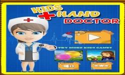 Baby Girl Hand Doctor Kid game screenshot 1/6