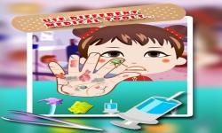 Baby Girl Hand Doctor Kid game screenshot 2/6