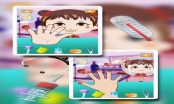 Baby Girl Hand Doctor Kid game screenshot 4/6