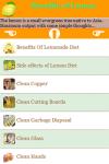 Lemon Benefits screenshot 2/3