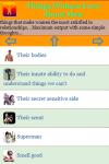 Things Women Love About Male screenshot 2/3