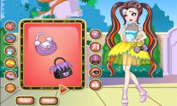 Ever After High Duchess Swan Dress Up screenshot 2/4