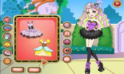 Ever After High Duchess Swan Dress Up screenshot 3/4