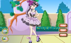 Ever After High Duchess Swan Dress Up screenshot 4/4