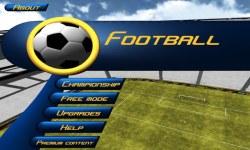 Football iOS screenshot 1/5