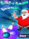 Santa Snow Bowling screenshot 1/3