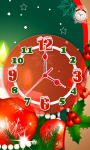 Christmas Clock with Alarm LWP screenshot 2/3