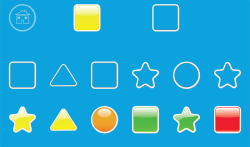 Kids Geometric Shapes Colors screenshot 1/6