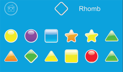 Kids Geometric Shapes Colors screenshot 2/6