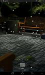 Night Bench Live Wallpaper screenshot 2/4