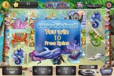 Diving Vacations Slots screenshot 2/5