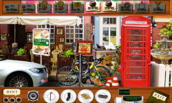 Free Hidden Object Games - Street Cafe screenshot 3/4