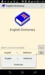 Modern English Dictionary screenshot 1/3