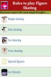 Rules to play Figure Skating screenshot 2/3
