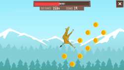 Giraffe Winter Sports Simulator screenshot 2/5