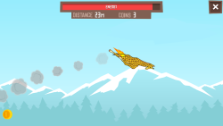 Giraffe Winter Sports Simulator screenshot 3/5