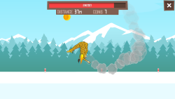 Giraffe Winter Sports Simulator screenshot 4/5
