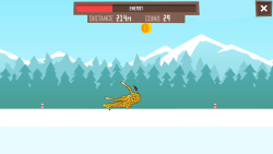Giraffe Winter Sports Simulator screenshot 5/5