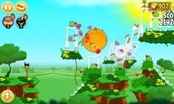 Angry Birds Review Seasons screenshot 3/4
