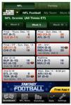 CBS Sports Pro Football screenshot 1/1