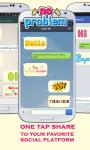 WordArt Chat Sticker F Free screenshot 1/4