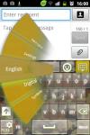 GO Keyboard Flecktarn Theme screenshot 1/3