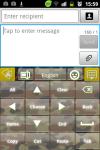 GO Keyboard Flecktarn Theme screenshot 2/3