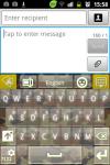 GO Keyboard Flecktarn Theme screenshot 3/3