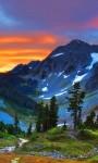 Beautiful Sunset Mountain views HD Wallpaper screenshot 5/6