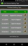 Live Soccer Betting Tips screenshot 2/2