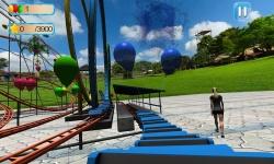 VR Roller Coaster : Balloon Blast screenshot 1/5