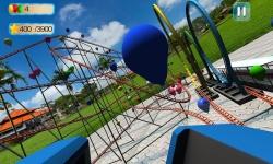 VR Roller Coaster : Balloon Blast screenshot 2/5