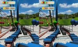 VR Roller Coaster : Balloon Blast screenshot 3/5