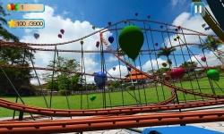 VR Roller Coaster : Balloon Blast screenshot 4/5