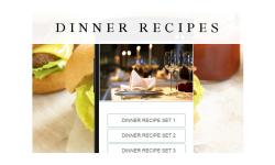 Dinner recipes food screenshot 1/3