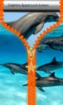 Dolphins Zipper Lock Screen screenshot 1/6