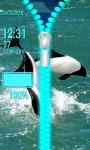 Dolphins Zipper Lock Screen screenshot 5/6