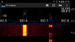 RF Analyzer active screenshot 3/6