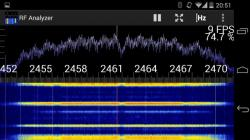 RF Analyzer active screenshot 5/6